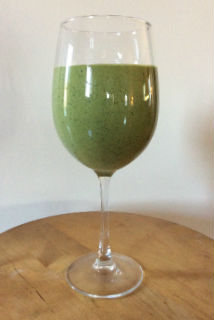 Greener Pasture Protein Shake - by Giselle M. Massi